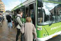 Bus i Svendborg