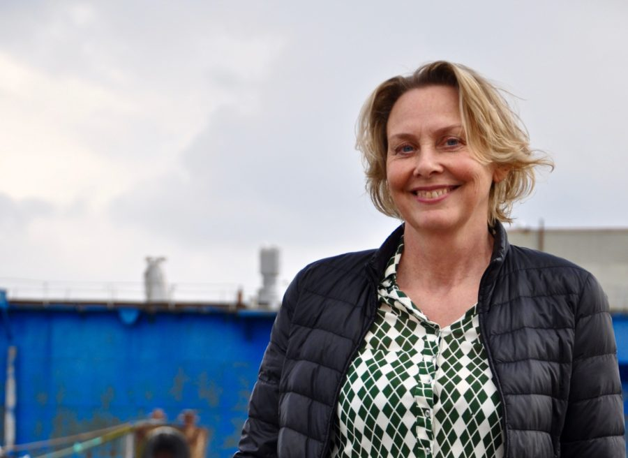 Susanne Gustenhoff, byrådsmedlem for Enhedslisten Svendborg