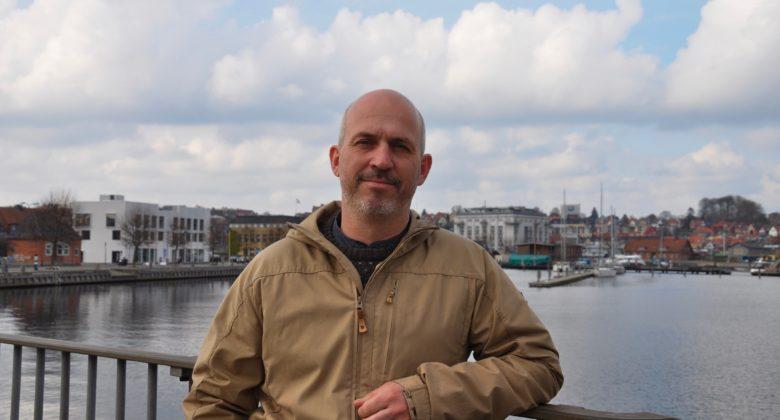 Jesper Kiel, byådskandidat for Enhedslisten Svendborg